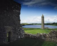 Devenish Monastic Site, Lough Erne, County Fermana