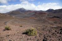 Hawaii, Maui, Haleakala, The Long Trail Ahead On T