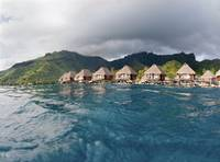 French Polynesia, Moorea Lagoon Resort, Bungalows