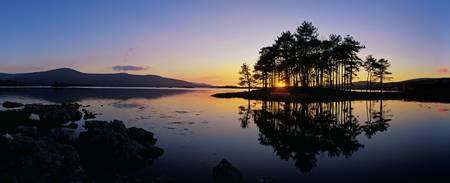 Sunset At The Lake, Kenmare, Ring Of Kerry, County