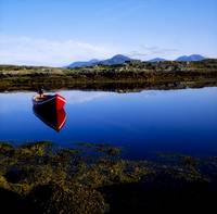 Roundstone, Connemara, County Galway, Ireland, Row
