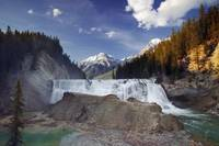 Wapta Falls, Kicking Horse River, Yoho National Pa