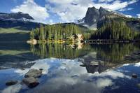 Emerald Lake And Emerald Lake Lodge, Yoho National