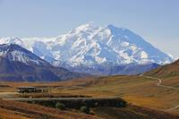 Scenic view of Mt. McKinley from Stony Overlook du