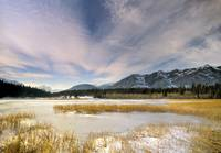 Middle Lake, Bow Valley Provincial Park, Alberta,