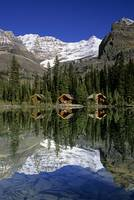 Cabins, Sargent's Point, Lake O'hara, British Co