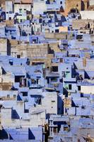 Blue Buildings Of Jodhpur, Aerial View