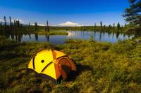 Tent Camping In Wrangell Saint Elias National Park