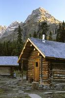 Cabin In Yoho National Park, Lake O'hara, British