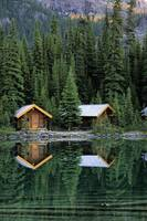 Cabins In Yoho National Park, Lake O'hara, Britis