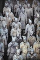 Army Of Terracotta Warriors In Xi'an, Shaanxi,Chi