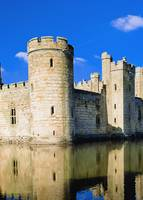 Bodiam Castle With Moat Rye, East Sussex, England