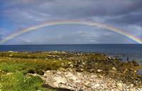 Rainbow On The Island Of Arran, Scotland