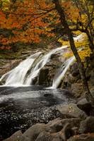Mary Ann Falls In Autumn, Nova Scotia, Canada