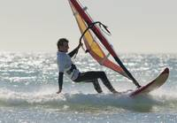 Windsurfing, Los Lances Beach, Tarifa, Spain