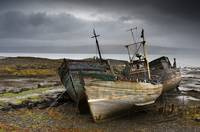 Shipwreck, Isle Of Mull, Scotland