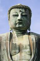 The Daibutsu Or Great Buddha, Close Up