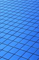 Symmetrical Pattern Of Blue Squares