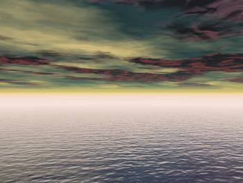Expanse Of Water And Sky by Design Pics