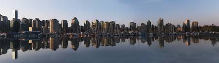 Vancouver City Skyline, British Columbia, Canada