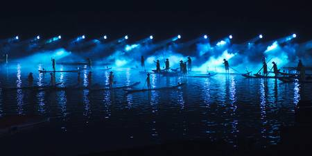 Impressions Light Show On The Li River, Yangshuo,