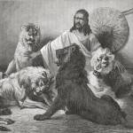 Tewodros Surrounded By Lions. From El Mundo En La  Prints & Posters