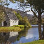 St. Finbarre's Oratory On Gougane Barra Lake Cou Prints & Posters