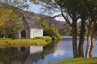 St. Finbarre's Oratory On Gougane Barra Lake Cou