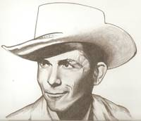 Hank Williams drawing