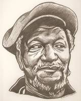 Redd Foxx drawing