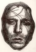 Evan Dando Lemonheads drawing