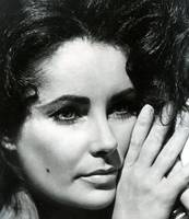 Close up Elizabeth Taylor