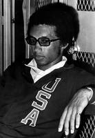 Arthur Ashe with sunglasses