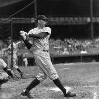 """""""Bill Dickey in batting cage"""" by RetroImagesArchive"""