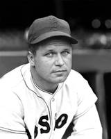 Jimmie Foxx Red Sox close up