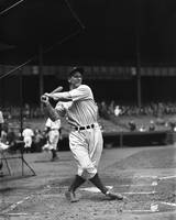 Lou Gehrig pre game follow through