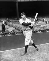 Hank Greenberg practice swing