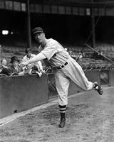 Lefty Grove getting ready