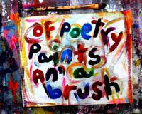 my life poetry paint and brush
