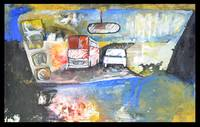 C:\fakepath\Crazy Driver, 2012 Mixed Media on canv