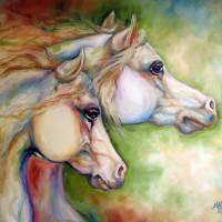 GENTLE SPIRITS EQUINE  by Marcia Baldwin