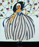 WHIMSICAL YOUNG GIRL / Art Deco Beuaty Fashion