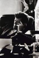 John F Kennedy at His Desk
