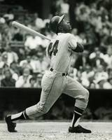 Hank Aaron of the Milwaukee Braves