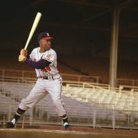 """Hank Aaron of the Milwaukee Braves"" by RetroImagesArchive"