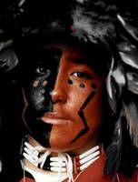 Native American close up