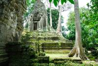 Temple in Angkor Wat Cambodia