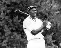 Michael Jordan playing golf
