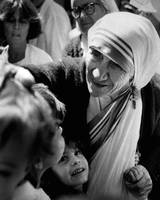 Mother Teresa with children