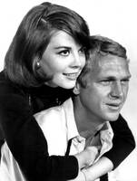 Natalie Wood with Steve McQueen